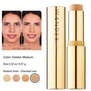 WANDER BEAUTY Flash Foundation Stick Golden Medium